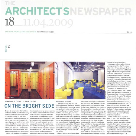 2009_Architect's Newspaper_On the Bright Side